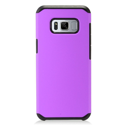 Insten Fitted Hard Shell Case for Samsung Galaxy S8 Plus - Purple