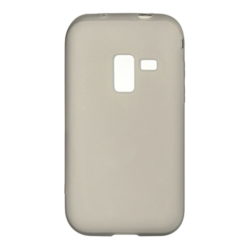 Insten Rubber Clear Crystal Cover Case For Samsung Galaxy Attain 4G, Smoke