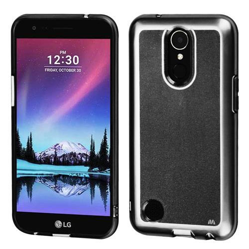 Insten TPU Rubber Case For LG Harmony/K10 (2017)/K20 Plus/K20 V, Smoke