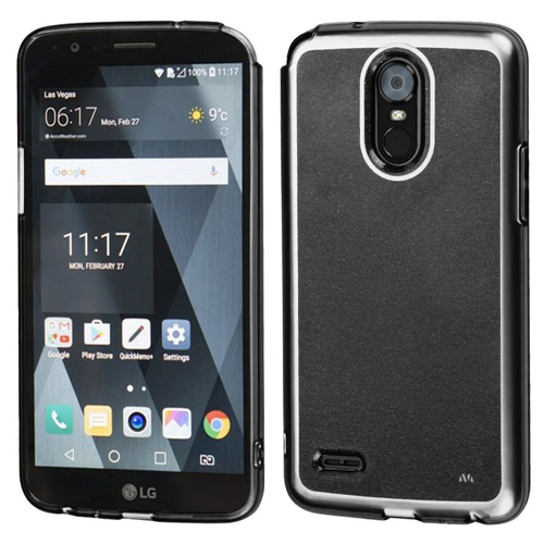 Insten TPU Rubber Cover Case For LG Stylo 3/Stylo 3 Plus, Smoke