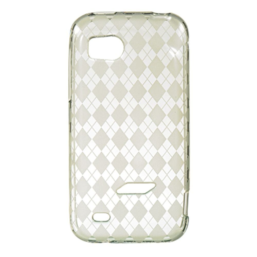 Insten TPU Crystal Cover Case For HTC Rezound / Vigor, Clear
