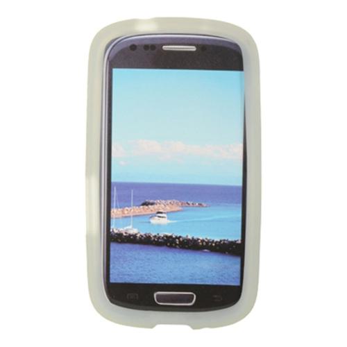 Insten Skin Rubber Case For Samsung Galaxy Axiom, Clear