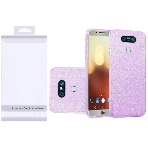 Insten Hard Glitter TPU Case For LG G6, Purple