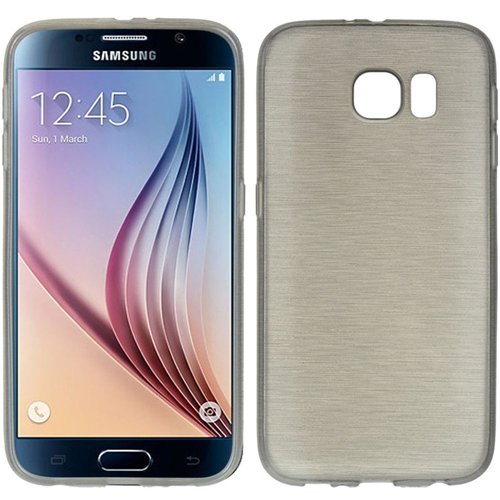 Insten Rubber Crystal Case For Samsung Galaxy S6, Smoke