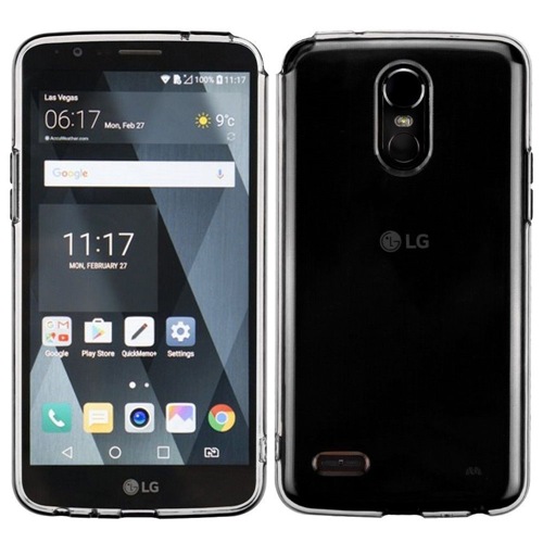 Insten TPU Rubber Cover Case For LG Stylo 3/Stylo 3 Plus, Clear