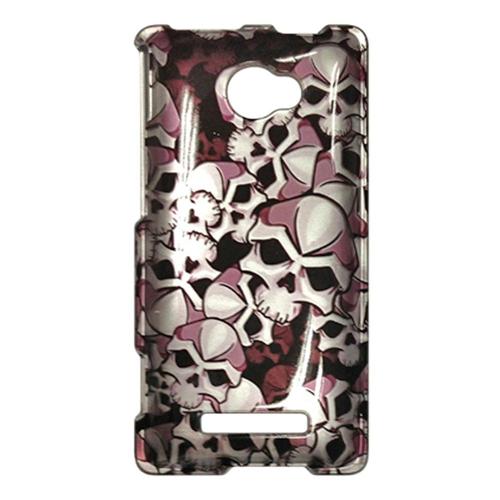 Insten Hard Plastic Case For HTC Windows Phone 8X, Black