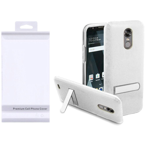 Insten Hard Plastic TPU Case w/stand For LG Stylo 3/Stylo 3 Plus, Clear
