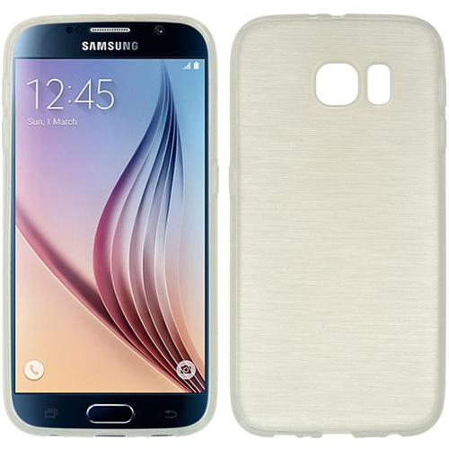 Insten Rubber Crystal Cover Case For Samsung Galaxy S6, White