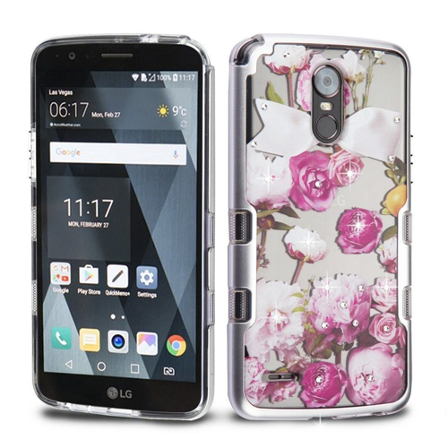 Insten Fitted Soft Shell Case - Silver;Clear