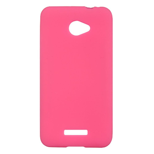 Insten Fitted Soft Shell Case for HTC Droid Dna - Hot Pink