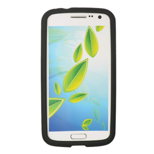 Insten Gel Rubber Case For Samsung Galaxy Premier, Black