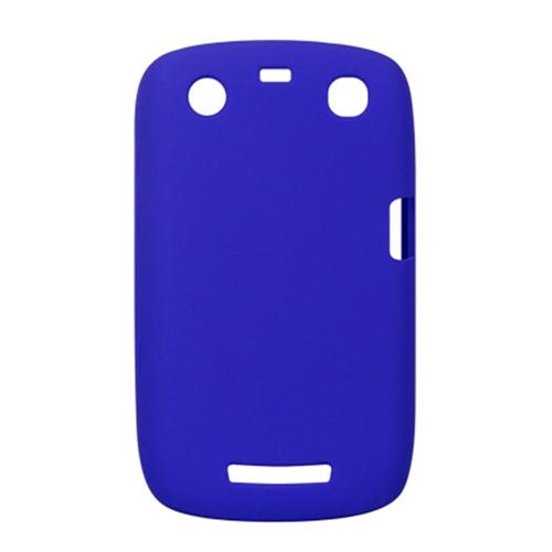 Insten Soft Rubber Cover Case For BlackBerry Curve 9350/9360, Blue