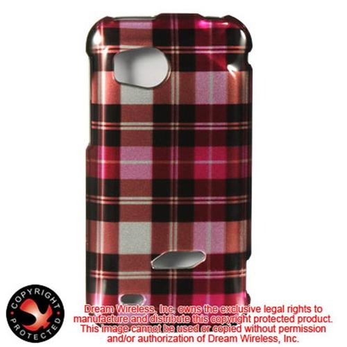 Insten Hard Plastic Cover Case For HTC Rezound / Vigor, Hot Pink