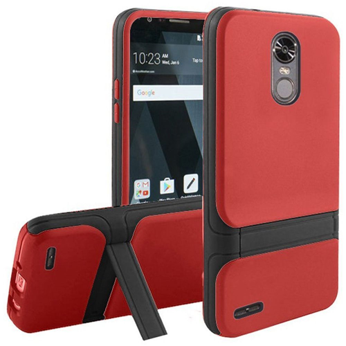 Insten Fitted Soft Shell Case - Black;Red