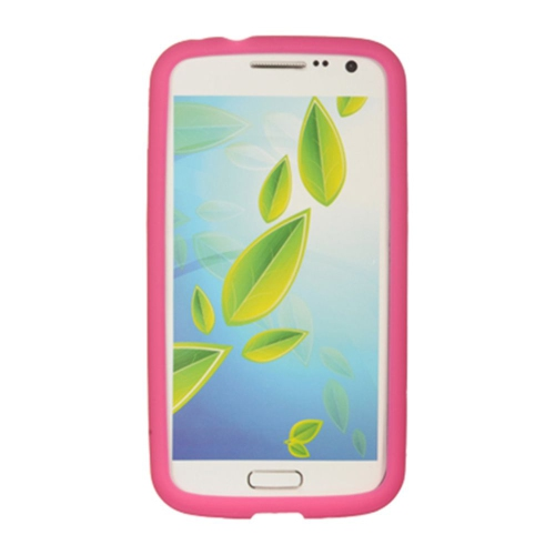 Insten Gel Rubber Case For Samsung Galaxy Premier, Hot Pink