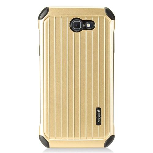 Insten Carry On Hard Cover Case For Samsung Galaxy J7 (2017)/J7 Perx/J7 Prime/J7 Sky Pro/J7 V, Gold