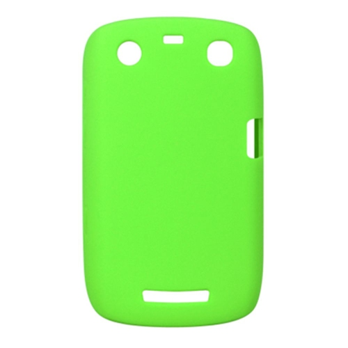 Insten Soft Rubber Cover Case For BlackBerry Curve 9350/9360, Green