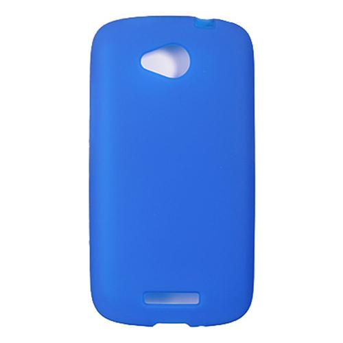 Insten Rubber Case For HTC One VX, Blue