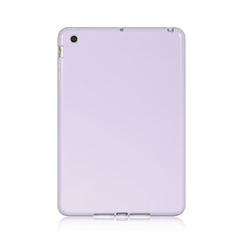 Insten TPU Rubber Crystal Cover Case For Apple iPad Mini 1/2/3, Purple