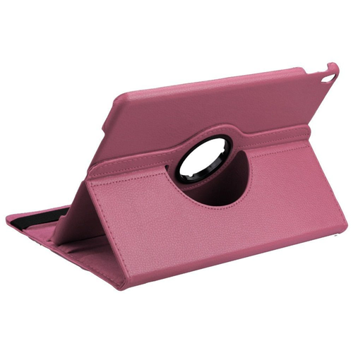 "Insten 360 Rotation Book-Style Leather Fabric Cover Case w/stand For Apple iPad Pro 10.5"", Pink"