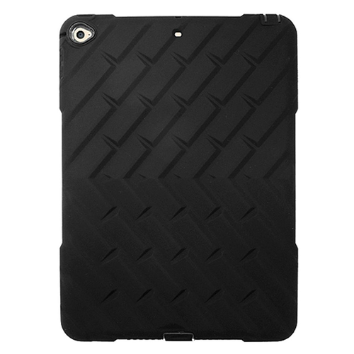 Insten Soft Hybrid Rubber Hard Cover Case For Apple iPad Air 2, Black