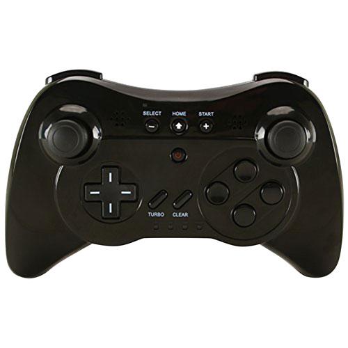 Manette sans fil de TTX Tech pour Wii U - Noir