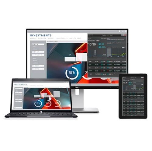 "Dell 24"" FHD 76 Hz 8 ms GTG LED Monitor - Black - (U2417HWI)"