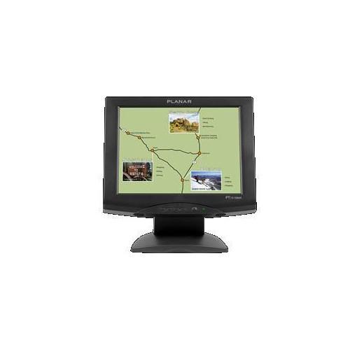 "Planar Systems 15"" 1024 x 768 75 Hz 8 ms GTG Monitor - Black - (997-3198-00)"