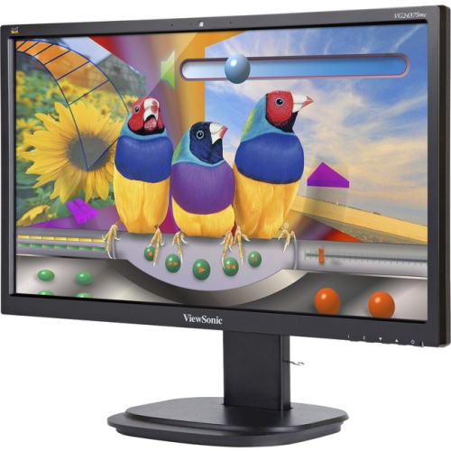 "ViewSonic 24"" FHD 75 Hz 6.9 ms GTG LED Monitor - Black - (VG2437SMC)"