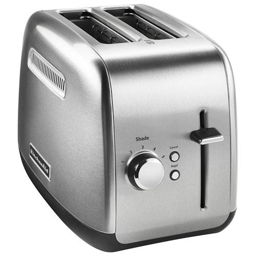 KitchenAid Toaster 2 Slice Brushed Stainless Steel Toasters