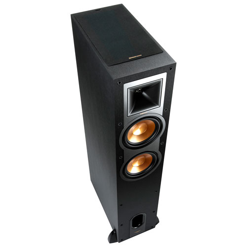 Klipsch R-26FAB Dolby Atmos 100-Watt Tower Speaker - Single - Black