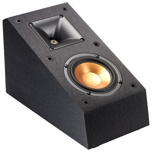 Klipsch R-14SA Dolby Atmos 50-Watt Elevation Speaker - Pair - Black
