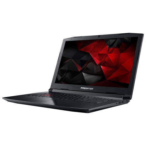 "Acer Predator Helios 17.3"" Gaming Laptop (i7-7700HQ/1TB HDD/128GB SSD/12GB RAM/Win10)"