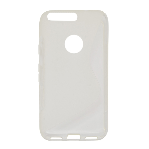 Google Pixel XL 5.5 Soft Gel S-line TPU Rubber Stylish Case - Clear