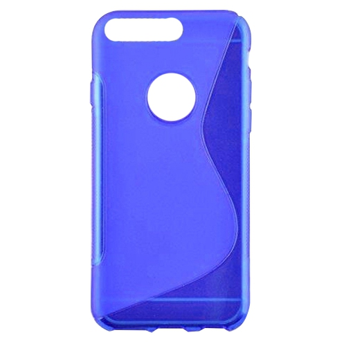 Google Pixel XL 5.5 Soft Gel S-line TPU Rubber Stylish Case - Blue