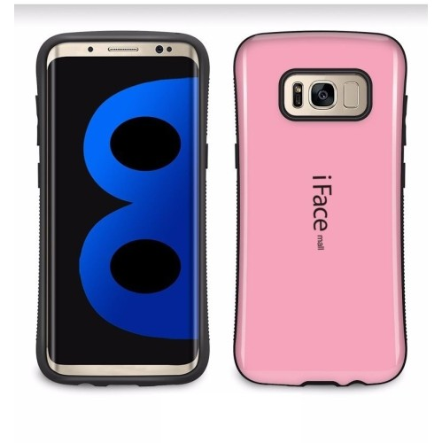 Samsung Galaxy S8 iFace Anti-Shock Protection Case - Baby Pink