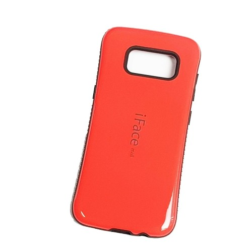 Samsung Galaxy S8 iFace Anti-Shock Protection Case - Red