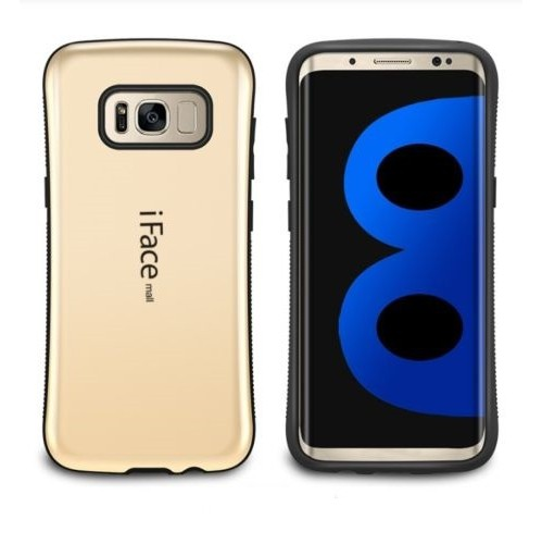 Samsung Galaxy S8 Plus iFace Anti-Shock Protection Case - Gold