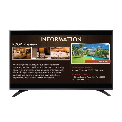 "LG 43"" LED SuperSign TV (43LW540S)"