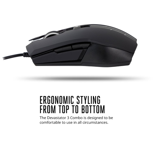 d7d42bcbc88 Cooler Master Devastator 3 Gaming Combo Keyboard and Mouse Featuring Seven  Different LED Color Options | Best Buy Canada