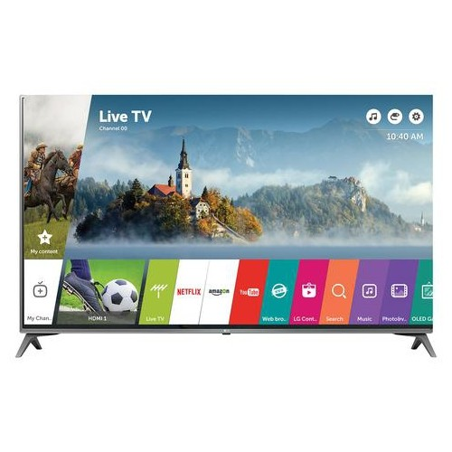 "LG 49"" 4K UHD HDR LED WEBOS 3.5 SMART TV (49UJ6500) - REFURBISHED"