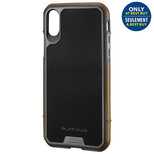 pretty nice b8454 ea83b Platinum D30 Fitted Hard Shell Case for iPhone X - Only at Best Buy