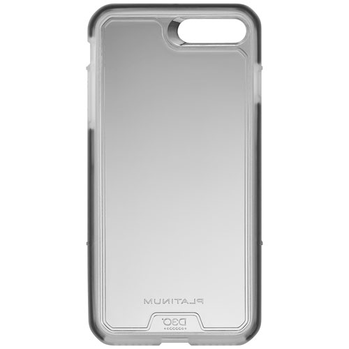 huge selection of e3b02 11085 Platinum D30 Fitted Hard Shell Case for iPhone 8 Plus/7 Plus - Clear
