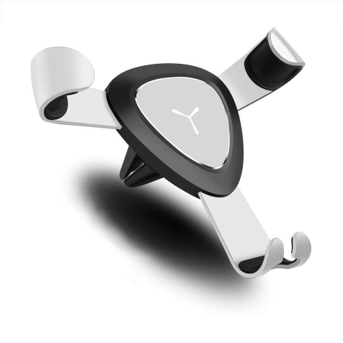 Universal Car Phone Mount Holder Air Vent Cradle With Smart Lock