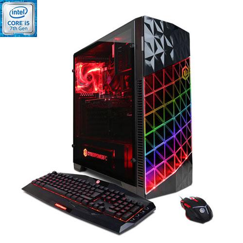 CyberPowerPC Gamer Xtreme PC (Intel Core i5-7400/1TB HDD/8GB RAM/AMD RX 580/Windows 10)