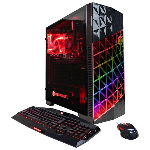 CyberPowerPC Gamer Master PC (AMD Ryzen 7 1700/2TB HDD/16GB RAM/AMD RX 580/Windows 10)