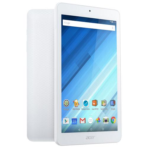Tablette 8 po 16 Go Android 5.1 Iconia One d'Acer avec processeur quadruple coeur MT8163 - Blanc