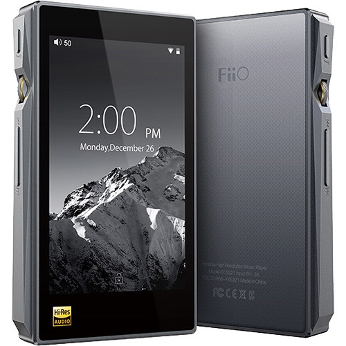 FiiO X5III (3rd Gen) Portable High Resolution Audio Player (Titanium)
