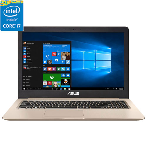 "ASUS VivoBook Pro 15.6"" Gaming Laptop - Metallic (Intel Core i7-7700HQ/512GB SSD HDD/16GB RAM/Win10)"