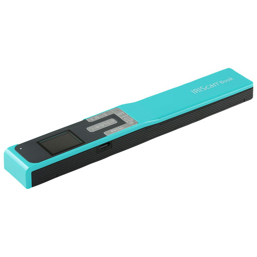 IRIScan Book 5 Portable Scanner - Turquoise